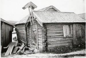Klockstapeln, saltboden i Prästhushamn
