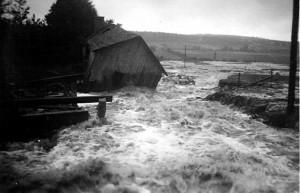 Översvämning i Utanö 1945 bild 1
