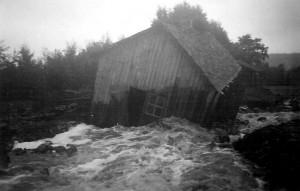 Översvämning i Utanö 1945 bild 2